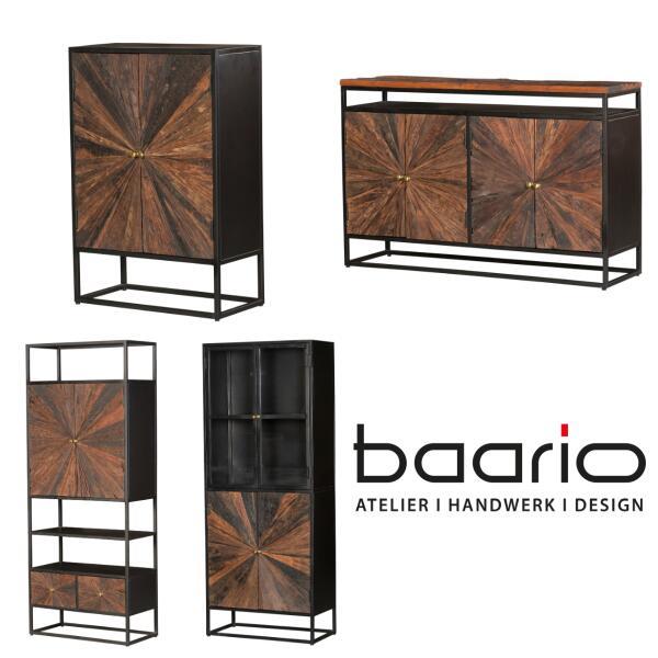 Möbelserie MERID - Altholz 100% recycelt - Möbelserie MERID - Altholz 100% recycelt | baario®